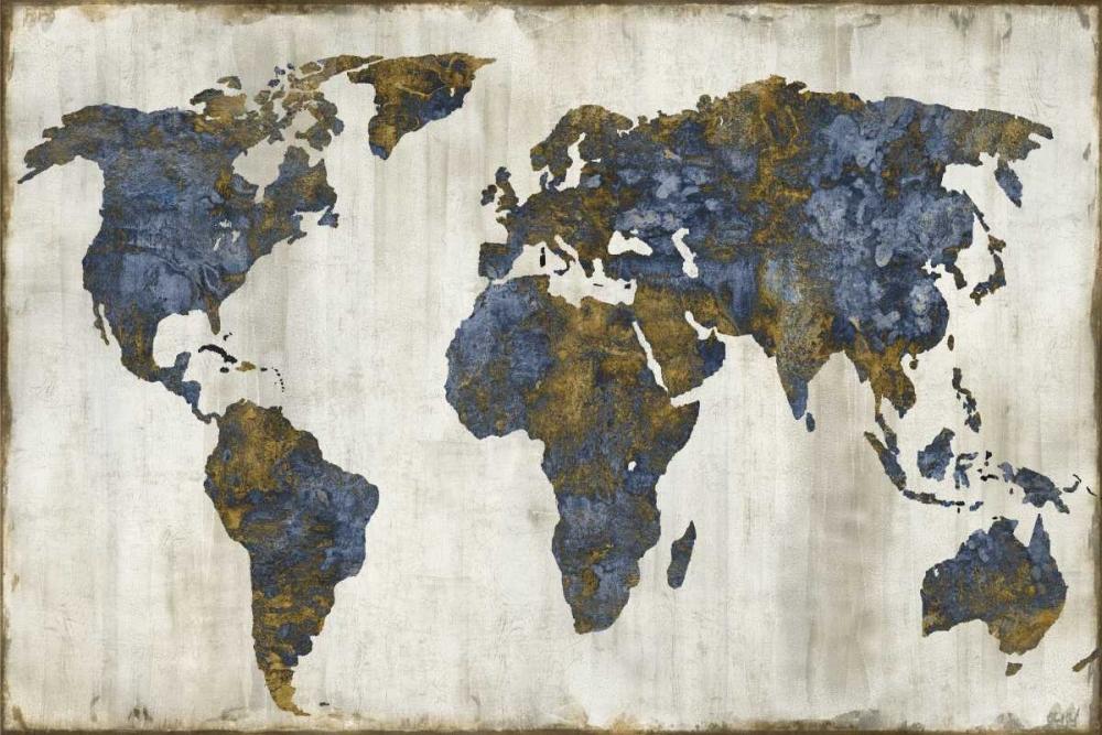 konfigurieren des Kunstdrucks in Wunschgröße The World I von Brennan, Russell
