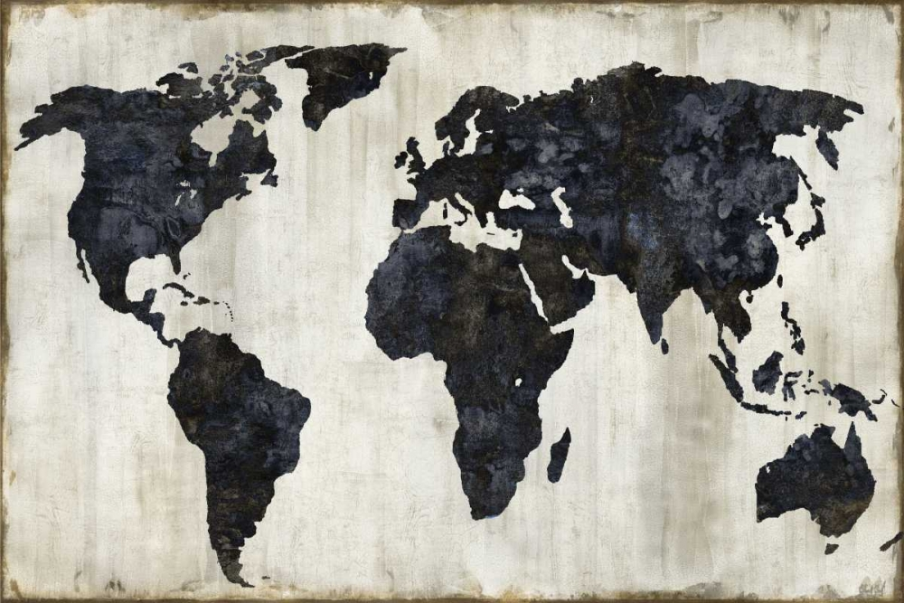 konfigurieren des Kunstdrucks in Wunschgröße The World II von Brennan, Russell