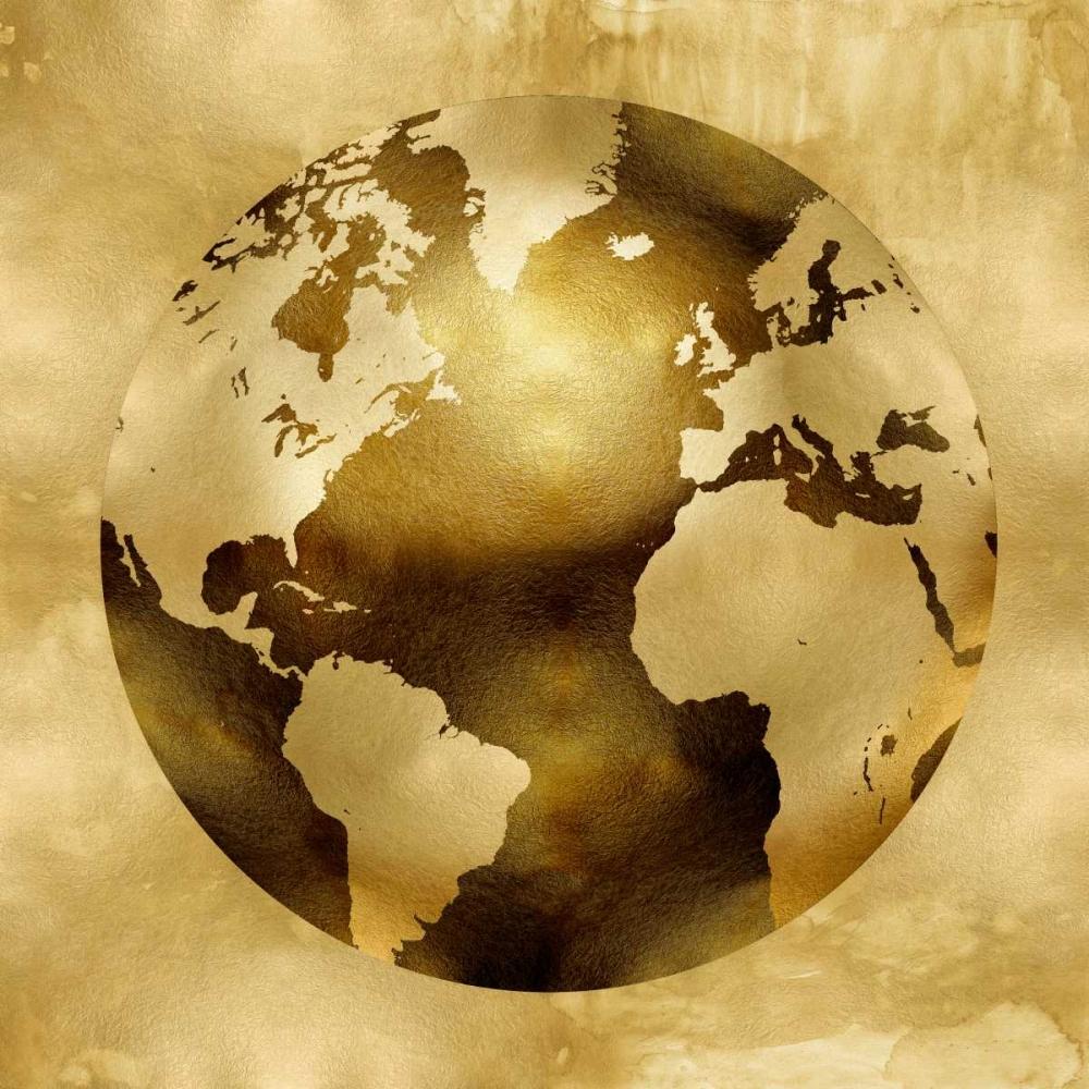 konfigurieren des Kunstdrucks in Wunschgröße Golden Globe von Brennan, Russell
