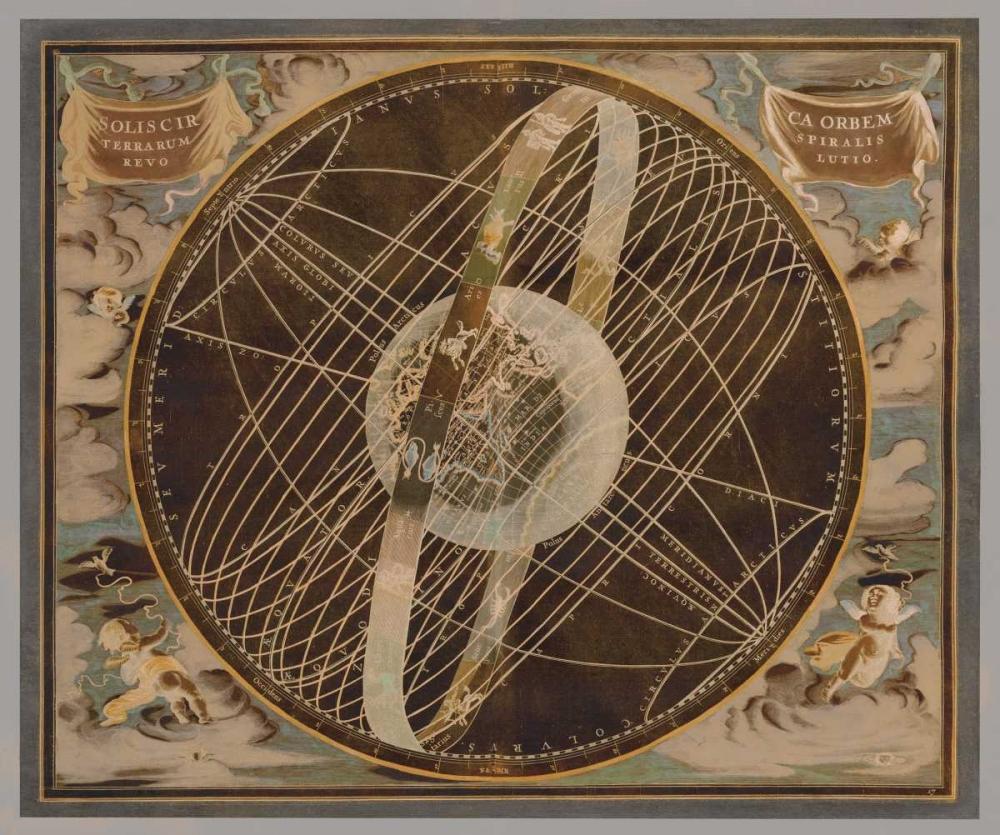 konfigurieren des Kunstdrucks in Wunschgröße Celestial I von Brennan, Russell