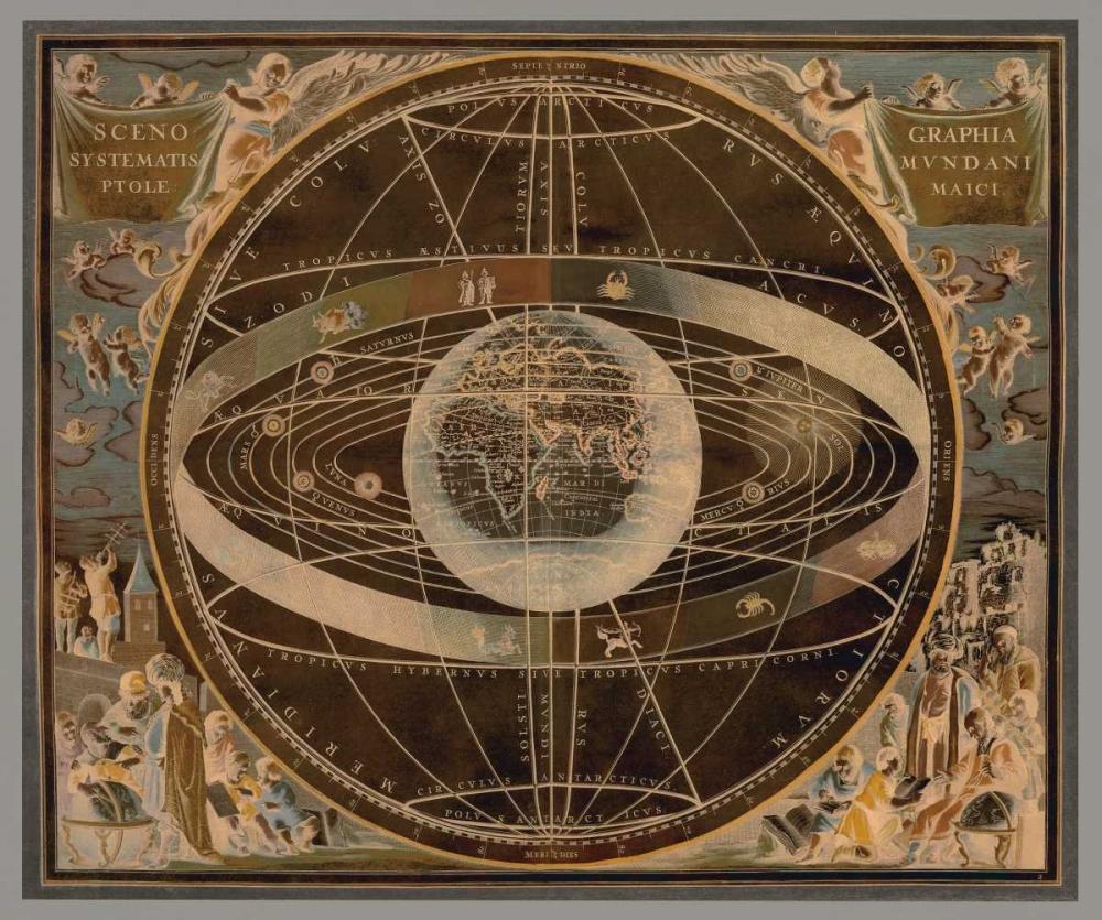 konfigurieren des Kunstdrucks in Wunschgröße Celestial II von Brennan, Russell