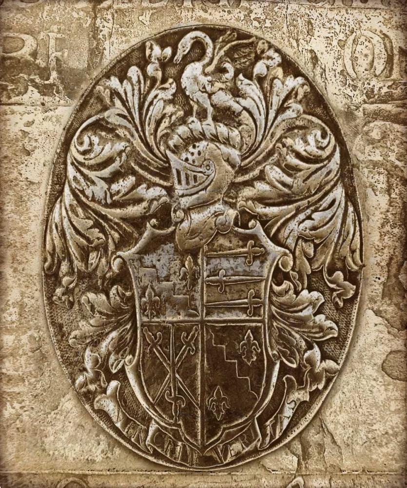 konfigurieren des Kunstdrucks in Wunschgröße Coat of Arms II von Brennan, Russell