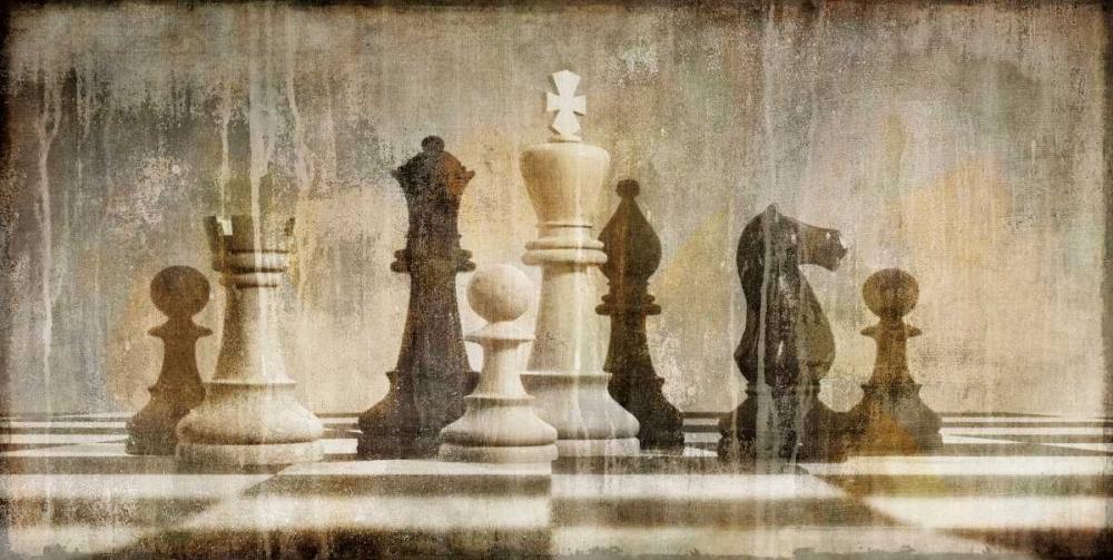 konfigurieren des Kunstdrucks in Wunschgröße Chess von Brennan, Russell