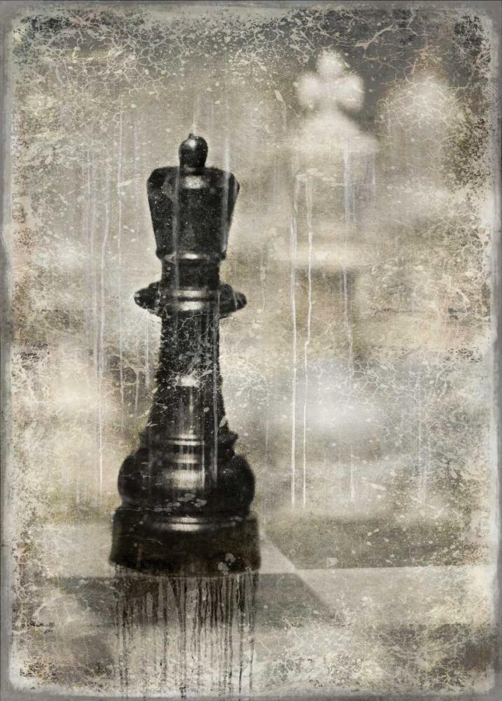 konfigurieren des Kunstdrucks in Wunschgröße Checkmate I von Brennan, Russell