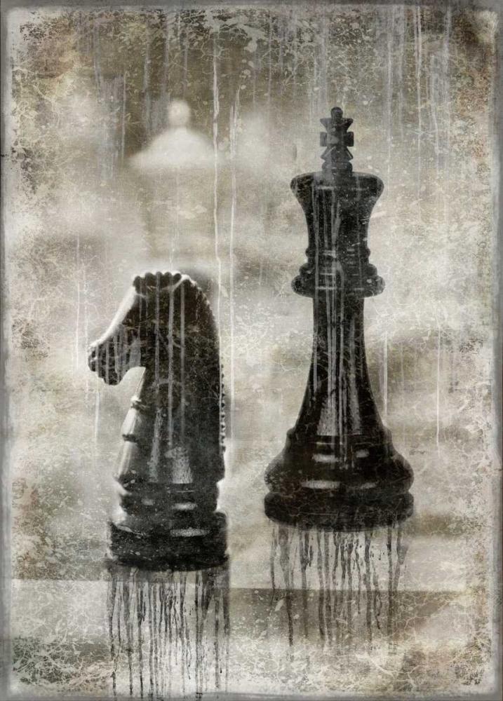konfigurieren des Kunstdrucks in Wunschgröße Checkmate II von Brennan, Russell