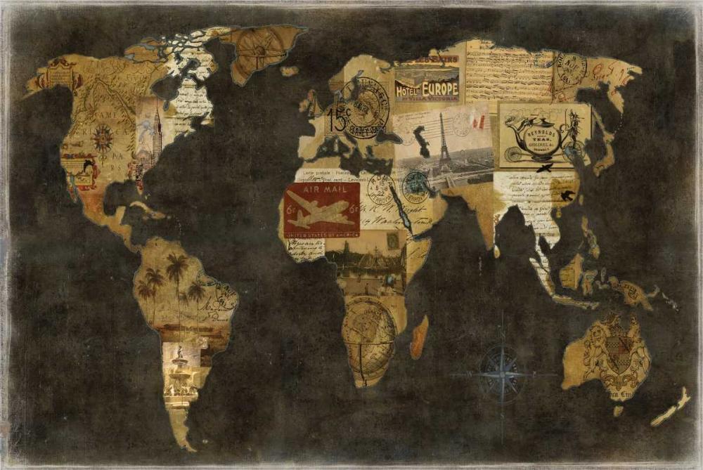 konfigurieren des Kunstdrucks in Wunschgröße Faraway Places von Brennan, Russell