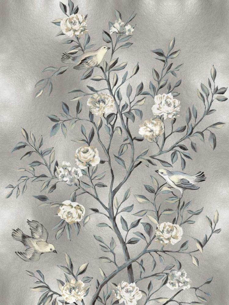 konfigurieren des Kunstdrucks in Wunschgröße Chinoiserie III von Campbell, Renee