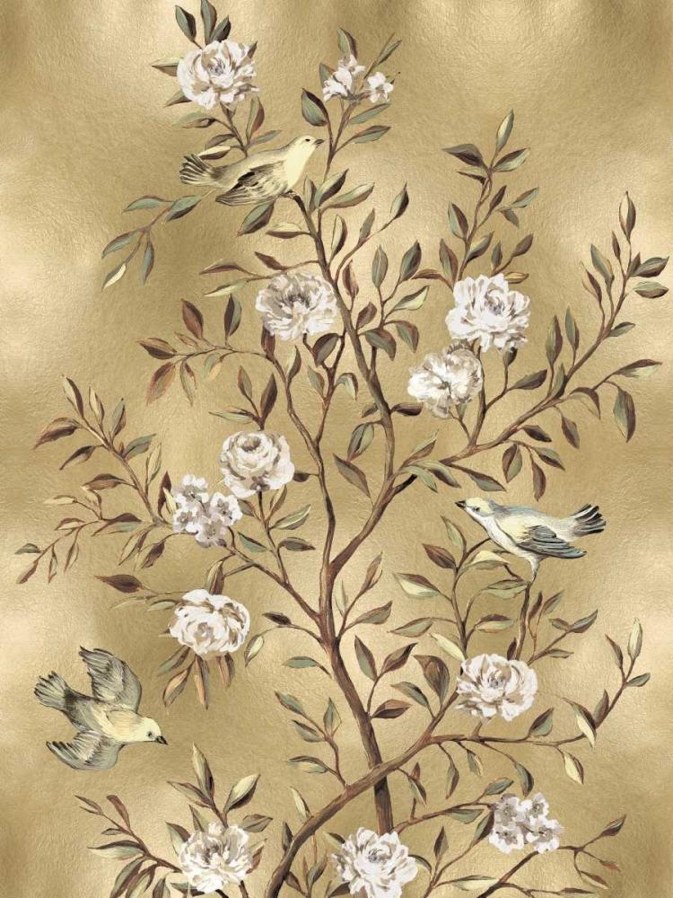 konfigurieren des Kunstdrucks in Wunschgröße Chinoiserie in Gold III von Campbell, Renee