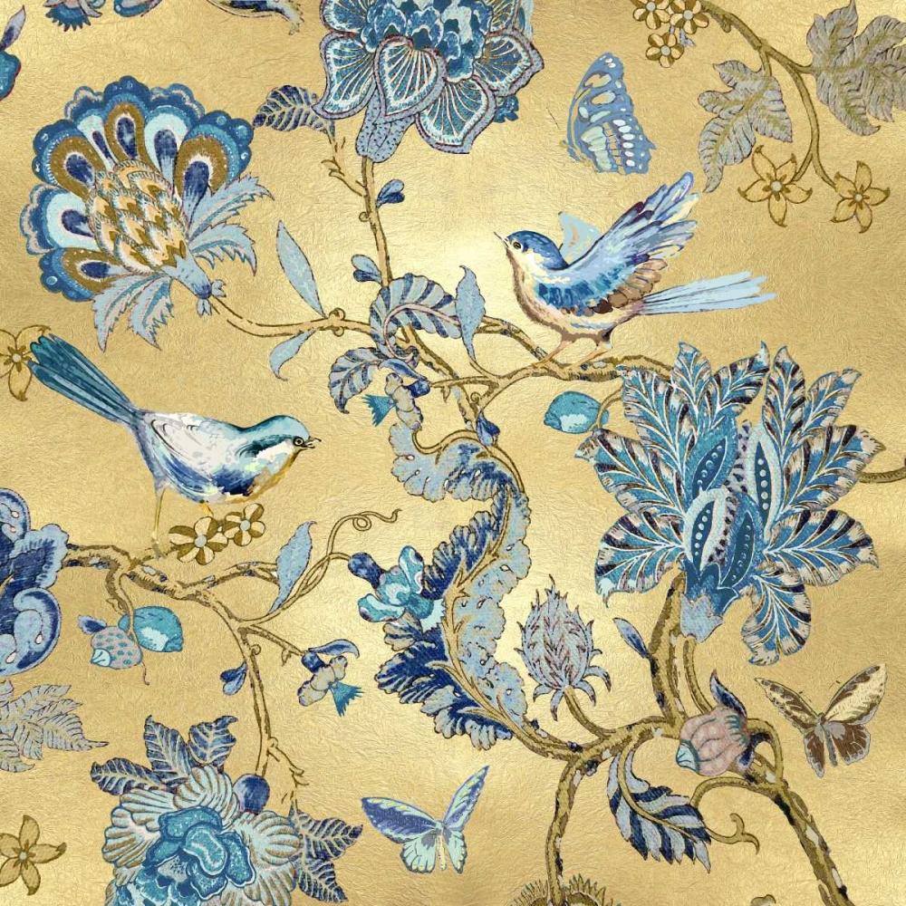 konfigurieren des Kunstdrucks in Wunschgröße Passing Thru on Gold I von Campbell, Renee