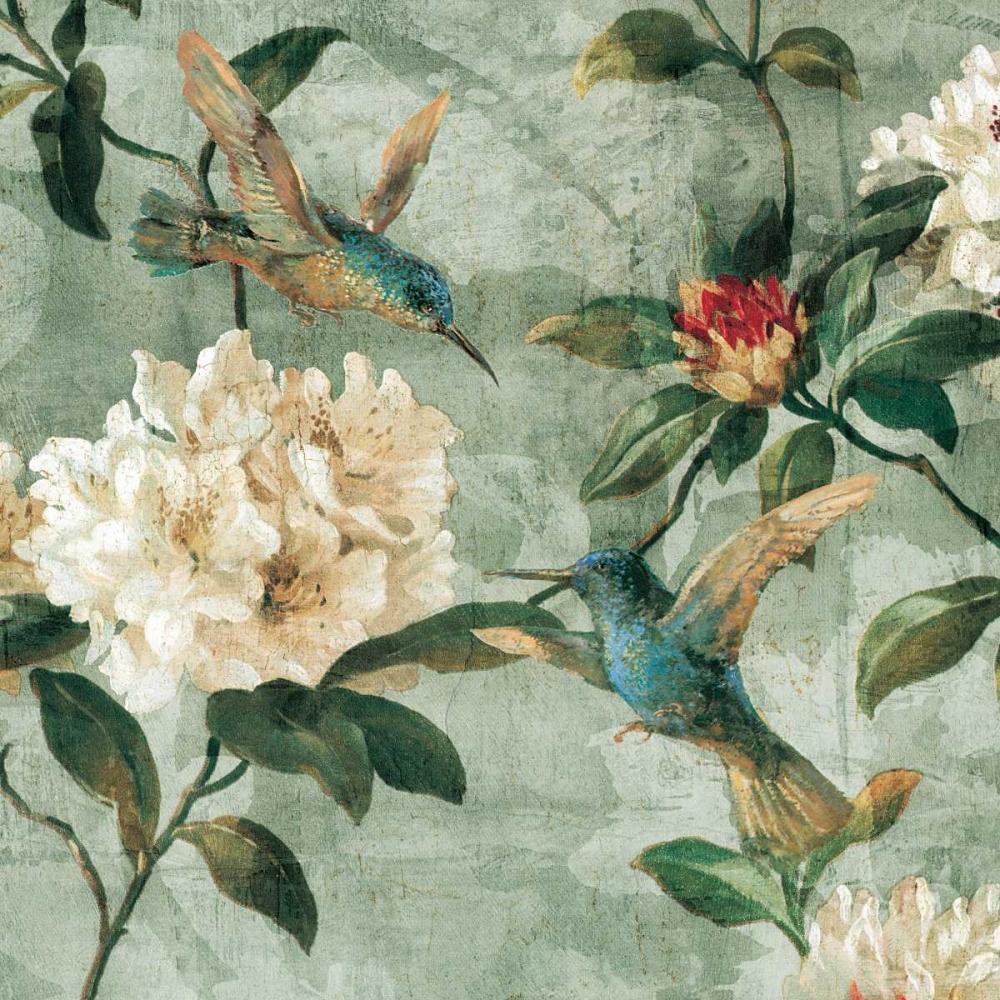konfigurieren des Kunstdrucks in Wunschgröße Birds of a Feather I von Campbell, Renee
