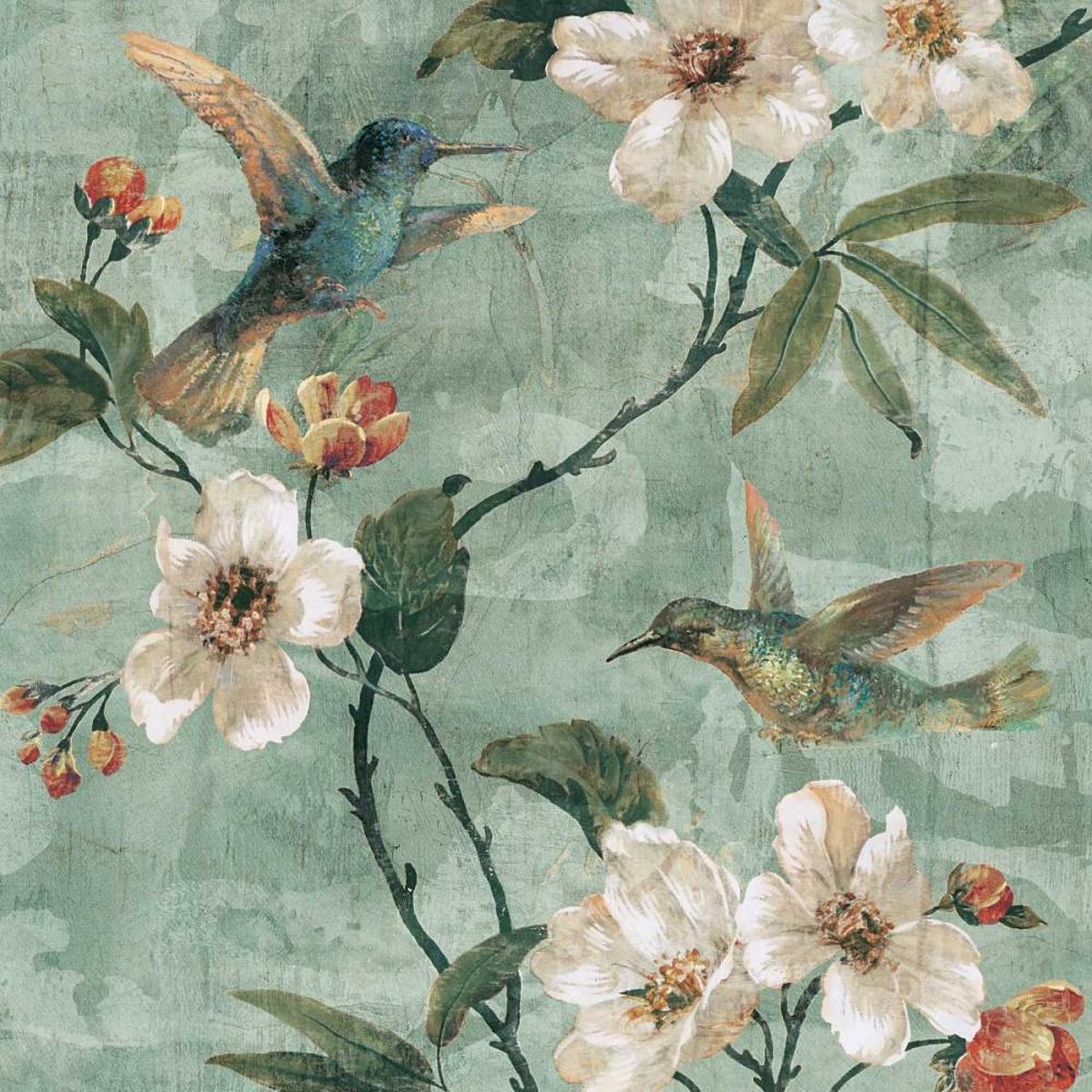 konfigurieren des Kunstdrucks in Wunschgröße Birds of a Feather II von Campbell, Renee