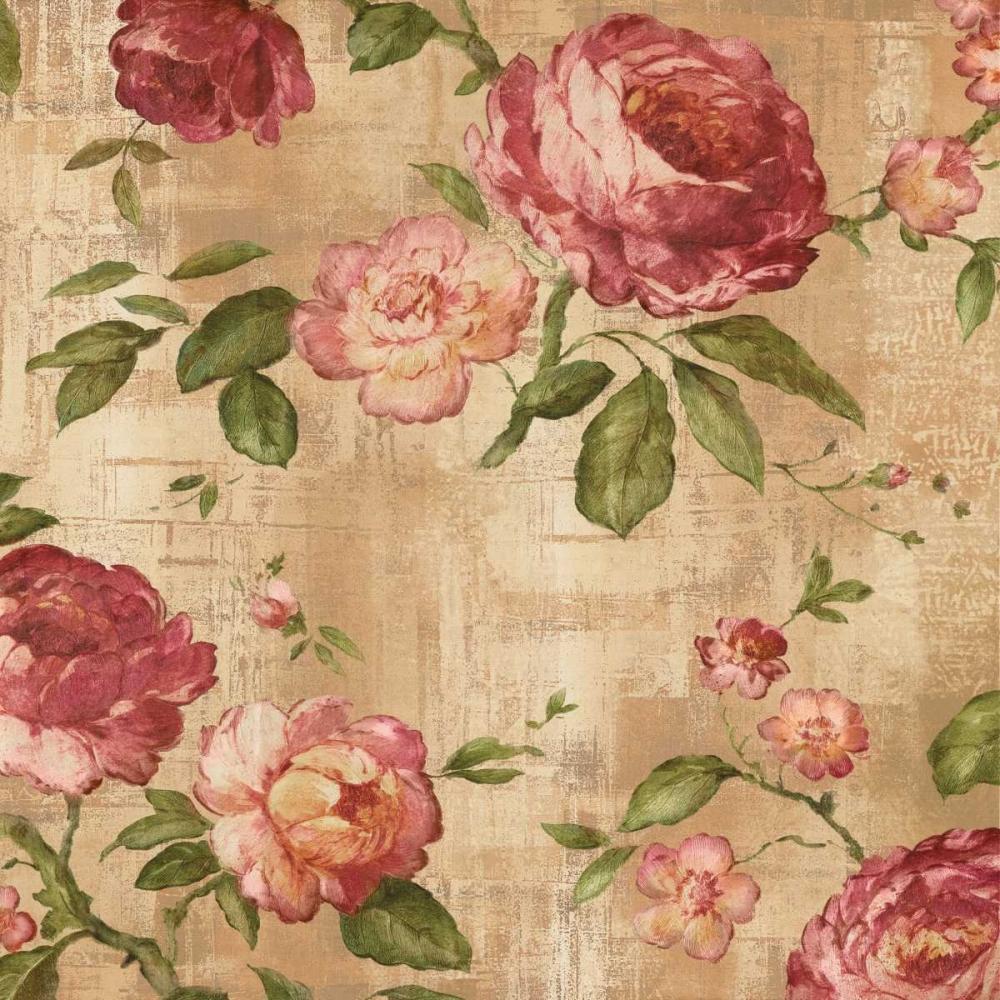 konfigurieren des Kunstdrucks in Wunschgröße Rose Garden I von Campbell, Renee