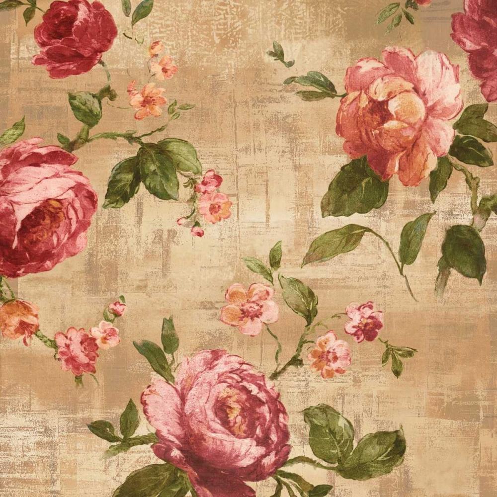 konfigurieren des Kunstdrucks in Wunschgröße Rose Garden II von Campbell, Renee