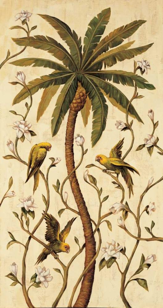 konfigurieren des Kunstdrucks in Wunschgröße Tropical Panel II von Jimenez, Rodolfo