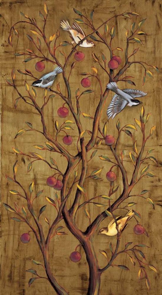 konfigurieren des Kunstdrucks in Wunschgröße Plum Tree Panel III von Jimenez, Rodolfo