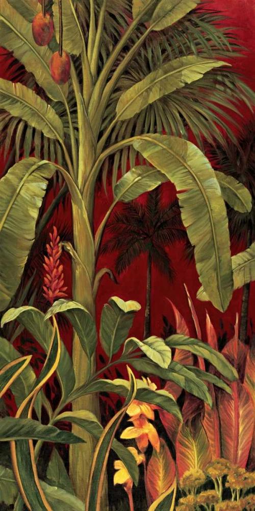 konfigurieren des Kunstdrucks in Wunschgröße Bali Garden I von Jimenez, Rodolfo