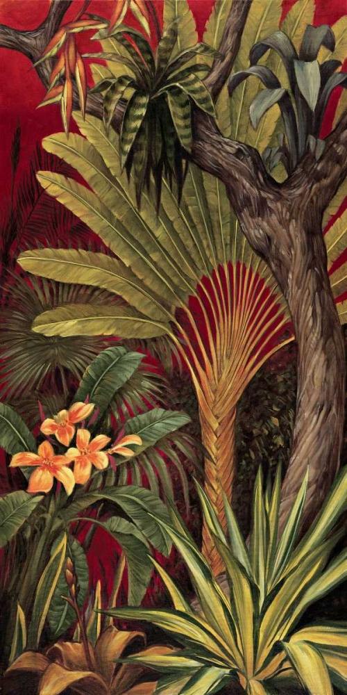 konfigurieren des Kunstdrucks in Wunschgröße Bali Garden II von Jimenez, Rodolfo