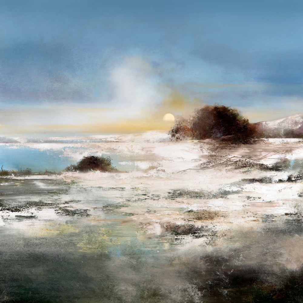 konfigurieren des Kunstdrucks in Wunschgröße Winter Melt von Di Scenza, Ron