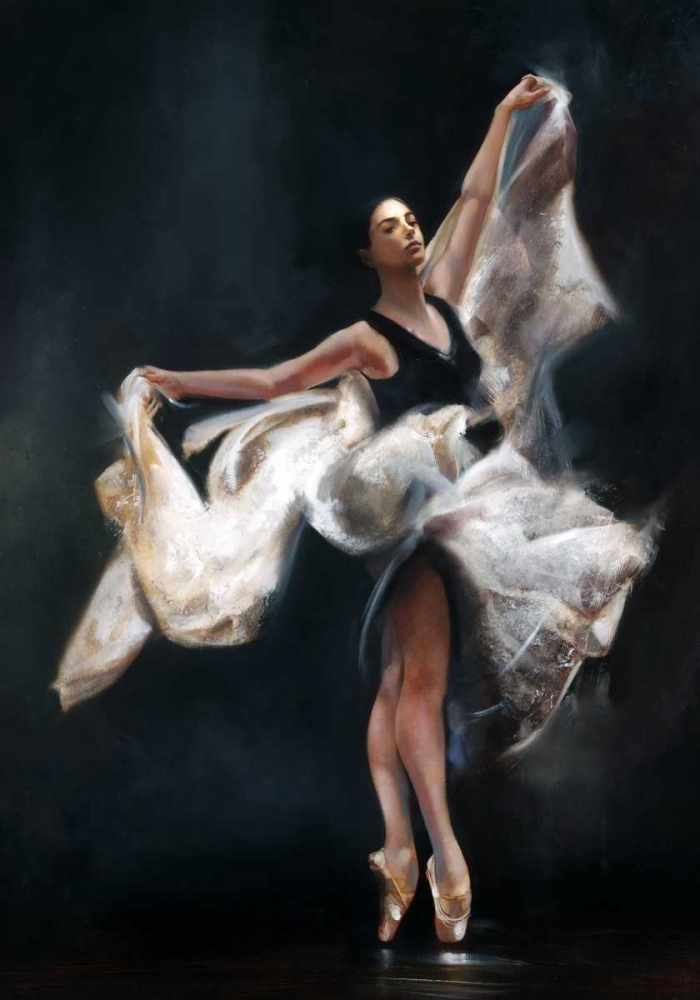 konfigurieren des Kunstdrucks in Wunschgröße Butterfly Ballet von Di Scenza, Ron