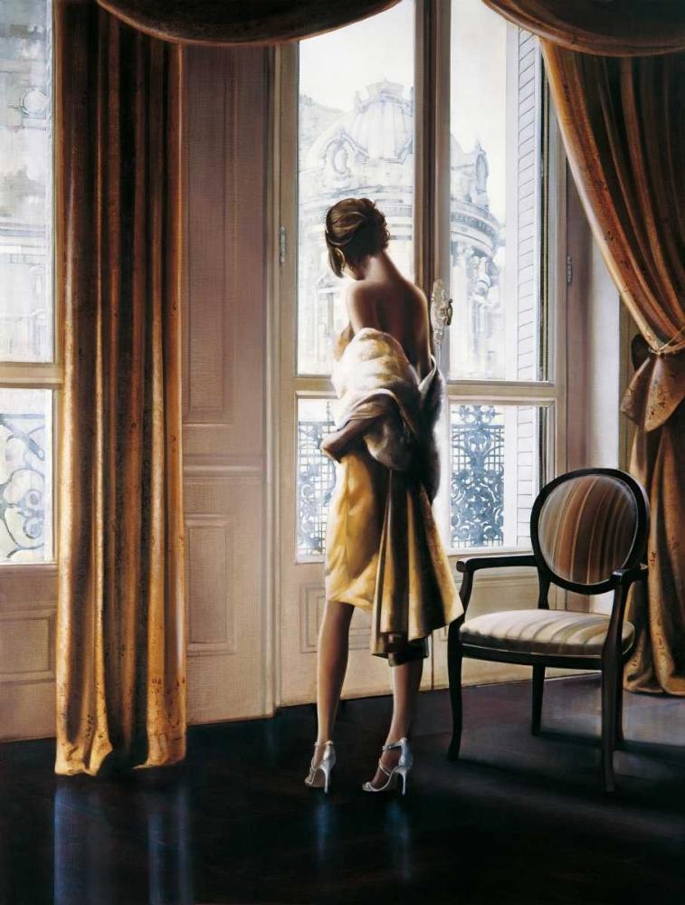 konfigurieren des Kunstdrucks in Wunschgröße Parisienne von Di Scenza, Ron