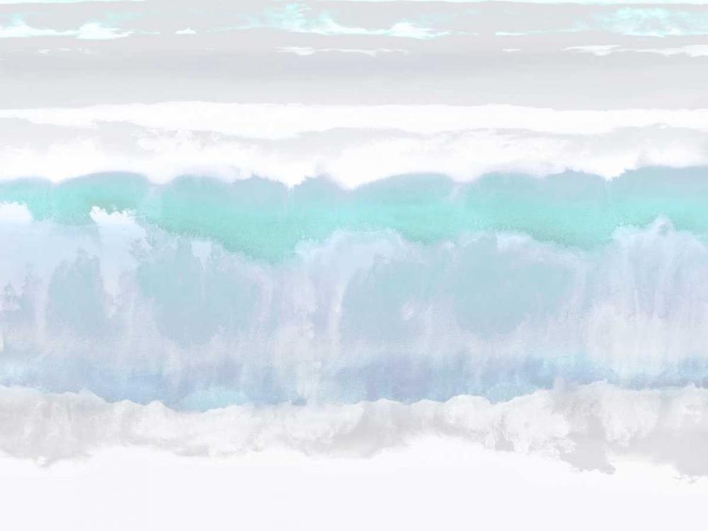 konfigurieren des Kunstdrucks in Wunschgröße Aqua Undertones von Springer, Rachel