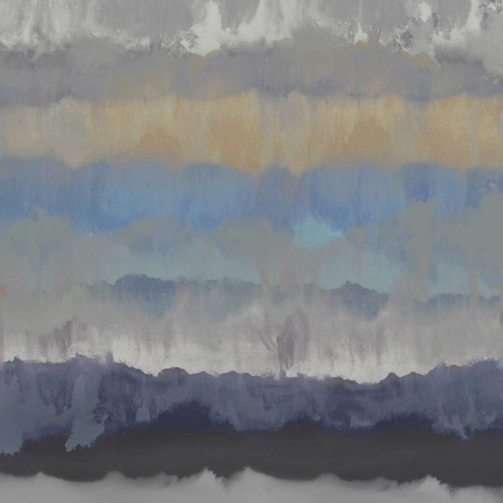konfigurieren des Kunstdrucks in Wunschgröße Murmur I von Springer, Rachel