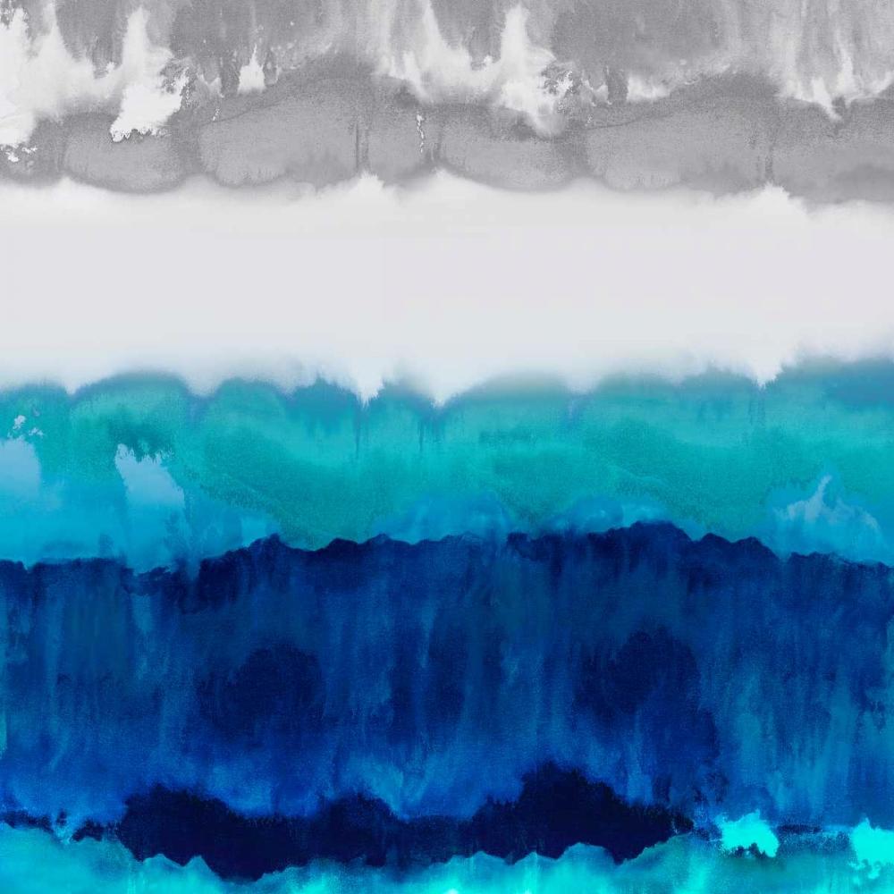 konfigurieren des Kunstdrucks in Wunschgröße Blue Spectrum von Springer, Rachel