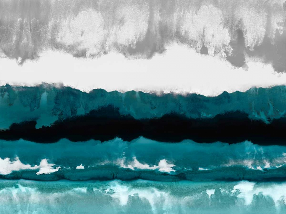 konfigurieren des Kunstdrucks in Wunschgröße Cerulean View von Springer, Rachel