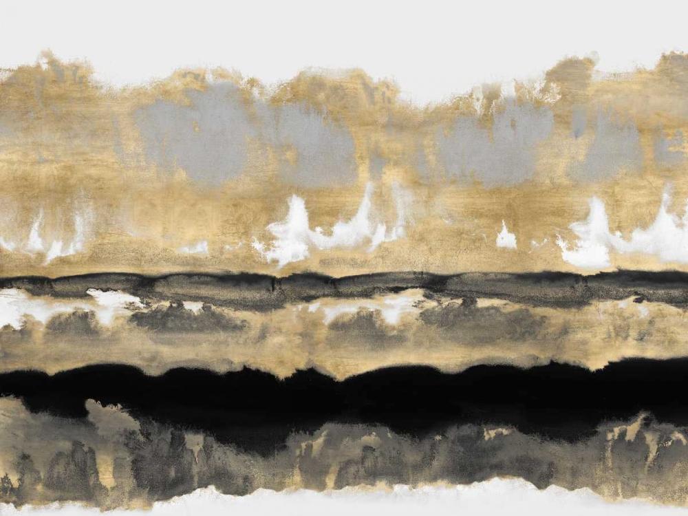 konfigurieren des Kunstdrucks in Wunschgröße Golden Undertones I von Springer, Rachel