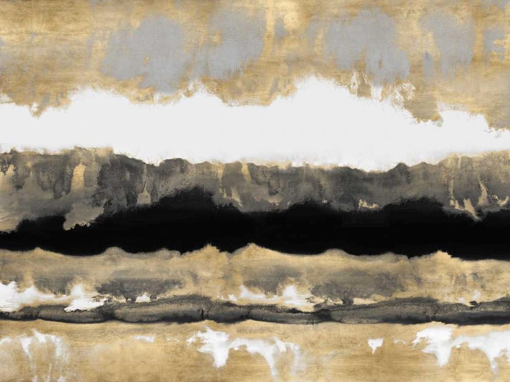 konfigurieren des Kunstdrucks in Wunschgröße Golden Undertones II von Springer, Rachel