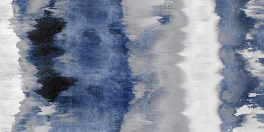 konfigurieren des Kunstdrucks in Wunschgröße Resonate - Indigo von Springer, Rachel