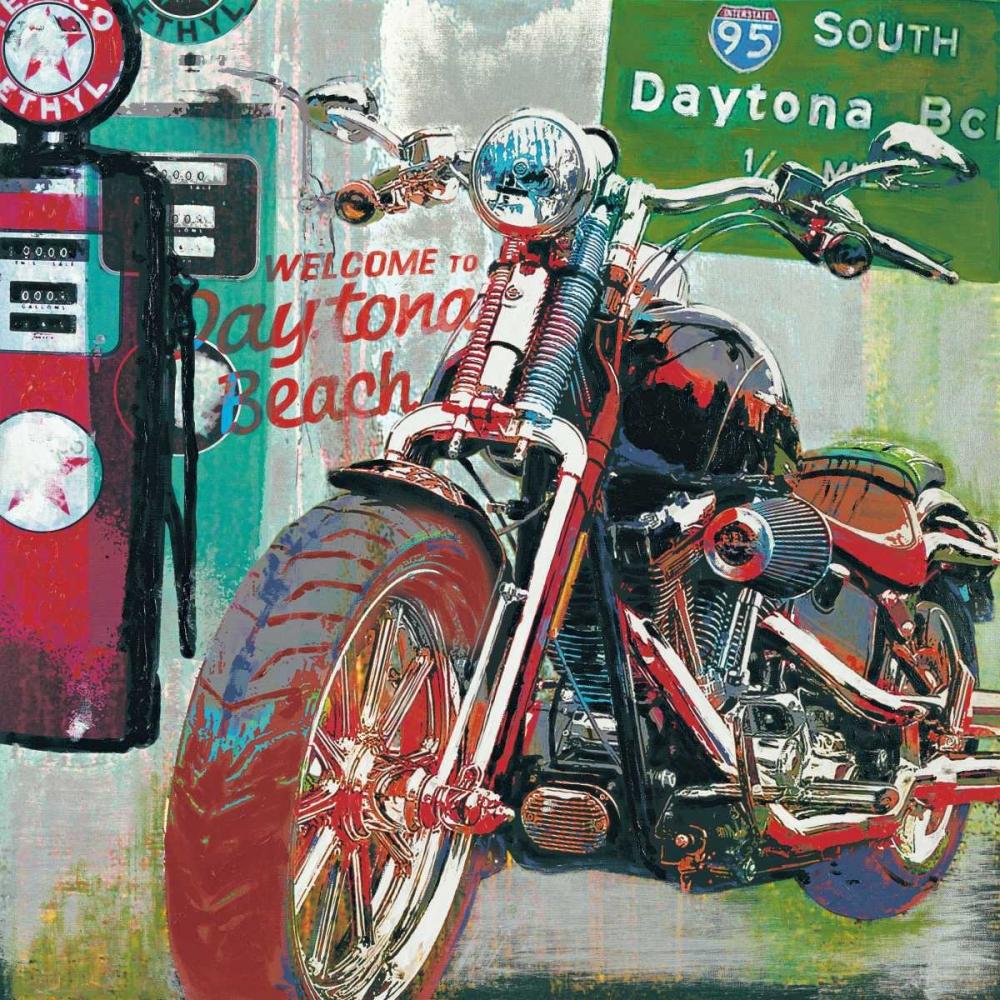 konfigurieren des Kunstdrucks in Wunschgröße Daytona Beach von Foster, Ray