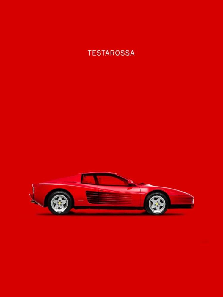konfigurieren des Kunstdrucks in Wunschgröße Ferrari Testarossa 84 von Rogan, Mark