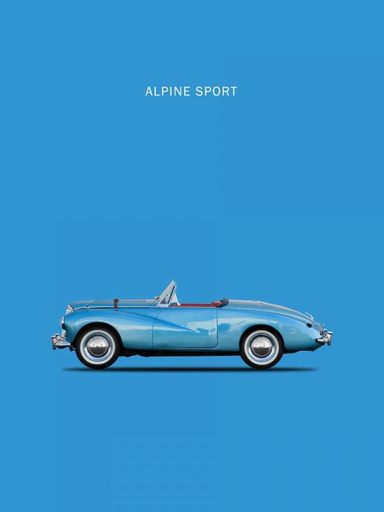 konfigurieren des Kunstdrucks in Wunschgröße Sunbeam Alpine Sport 53 von Rogan, Mark