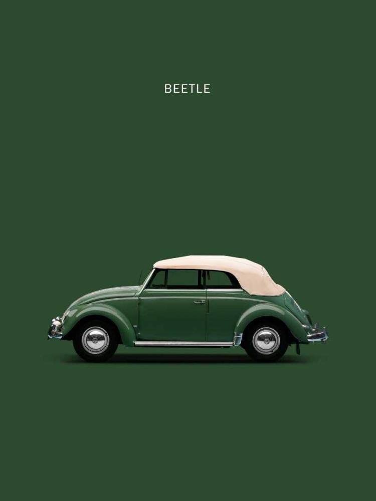 konfigurieren des Kunstdrucks in Wunschgröße VW Beetle Green 53 von Rogan, Mark