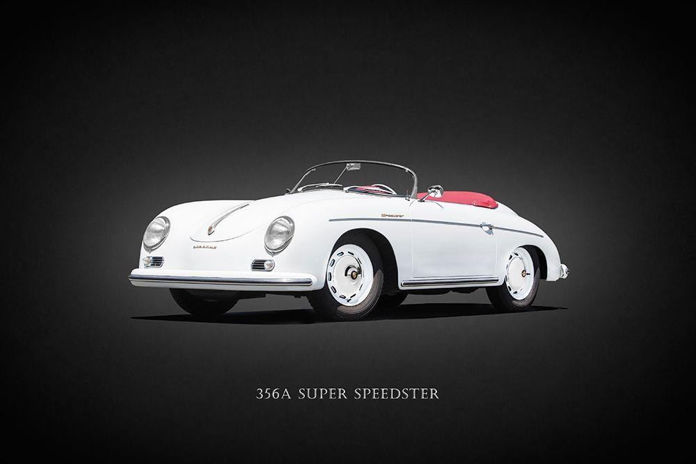 konfigurieren des Kunstdrucks in Wunschgröße Porsche Super Speedster 1957 von Rogan, Mark
