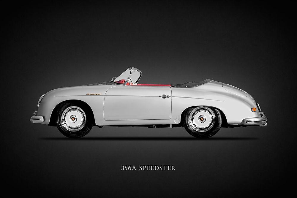 konfigurieren des Kunstdrucks in Wunschgröße Porsche 356A Speedster 1957 von Rogan, Mark