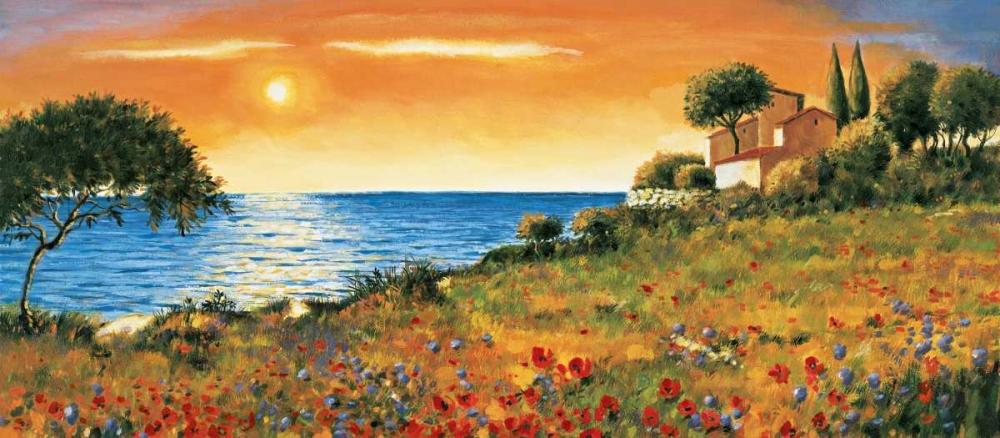 konfigurieren des Kunstdrucks in Wunschgröße Sunlight Coast von Leblanc, Richard