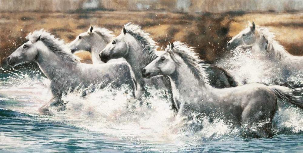 konfigurieren des Kunstdrucks in Wunschgröße Running Wild von Steele, Ralph