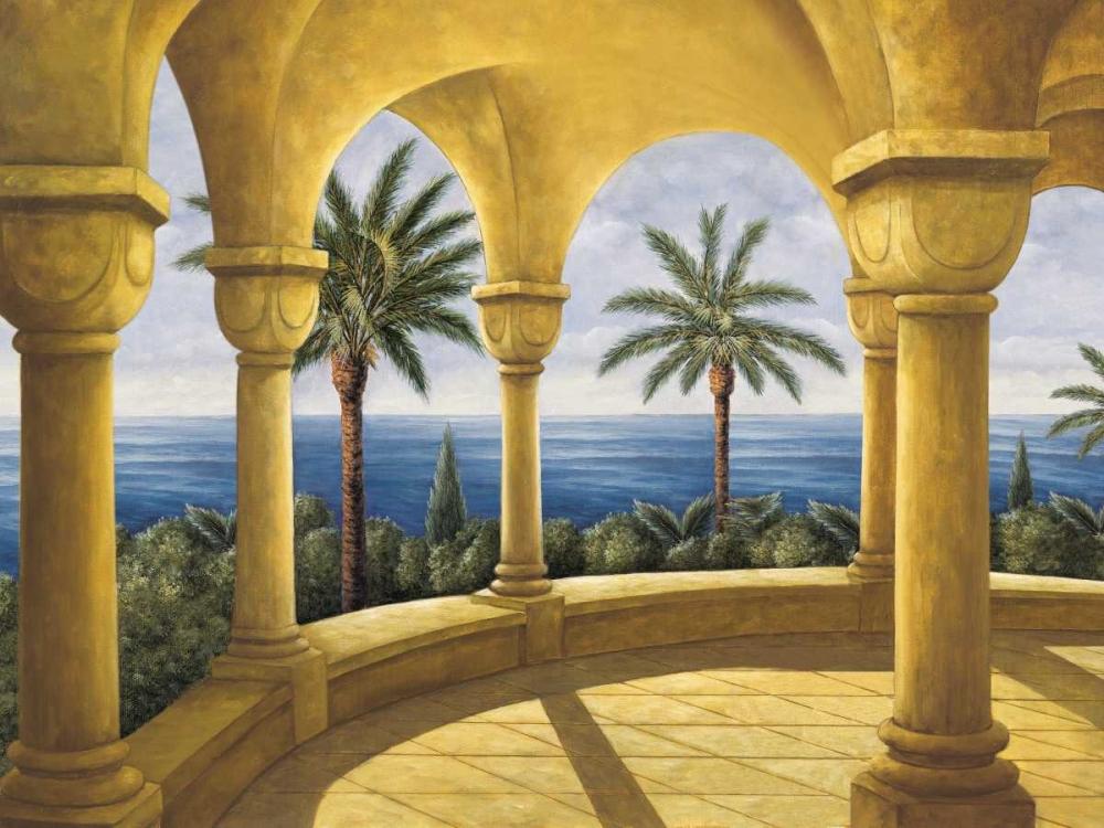 konfigurieren des Kunstdrucks in Wunschgröße Ocean View I von Blanco, Samuel