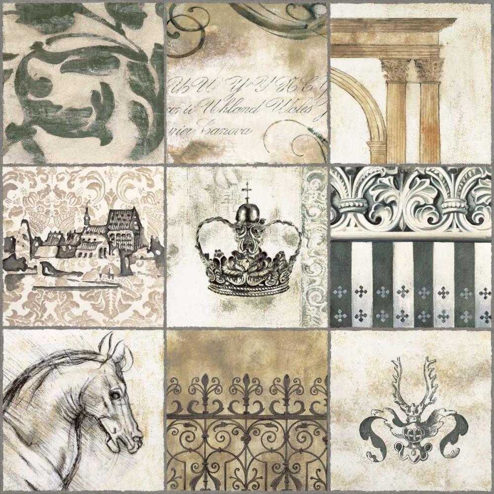 konfigurieren des Kunstdrucks in Wunschgröße Baroque II von Bellaunay, Sylvie