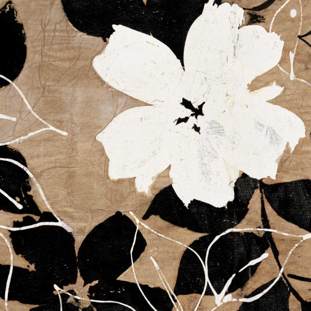 konfigurieren des Kunstdrucks in Wunschgröße Fleurs I von Cailler, Sylvie