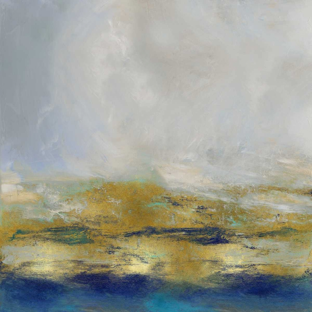 konfigurieren des Kunstdrucks in Wunschgröße Terra in Aqua von Messina, Jake