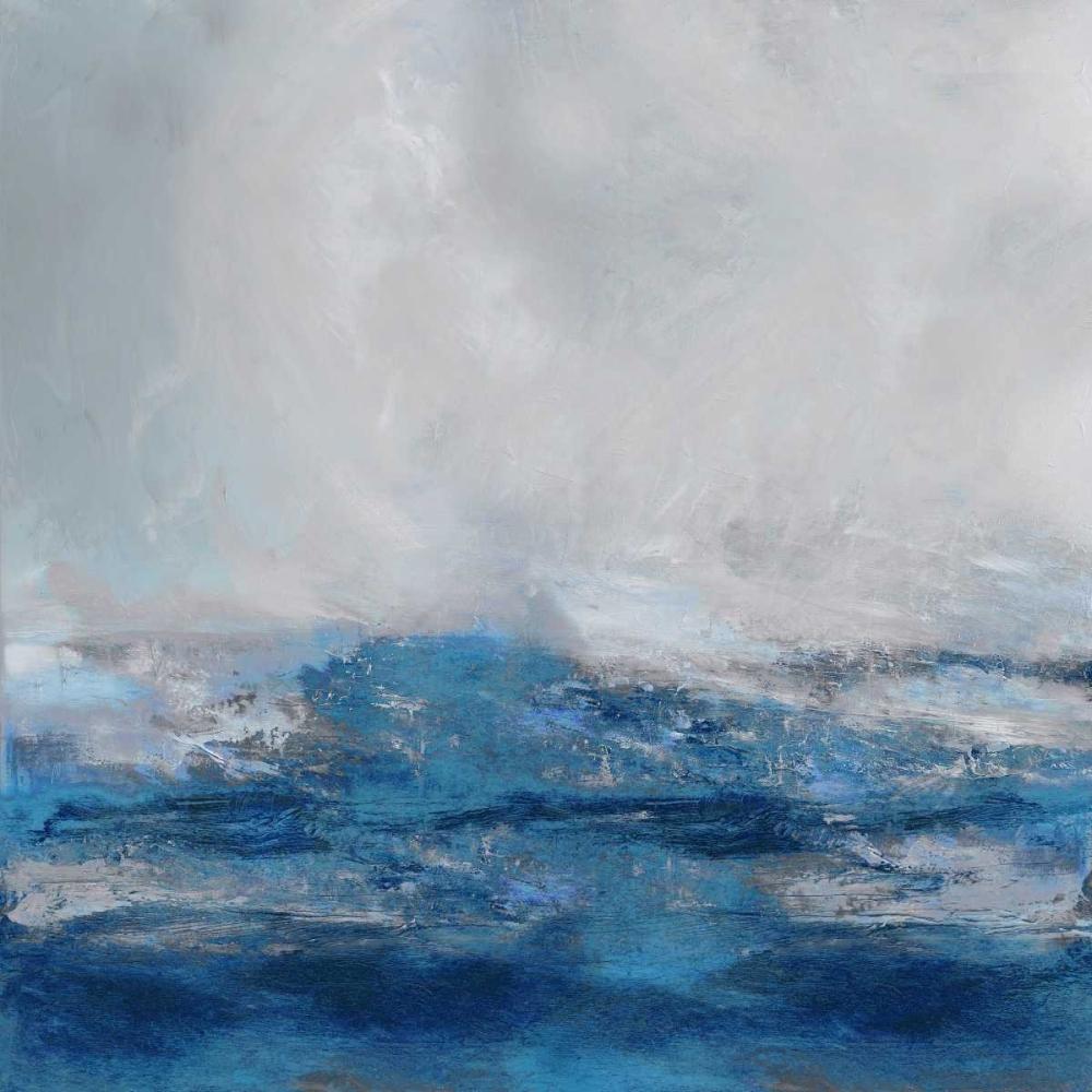 konfigurieren des Kunstdrucks in Wunschgröße Terra in Blues von Messina, Jake
