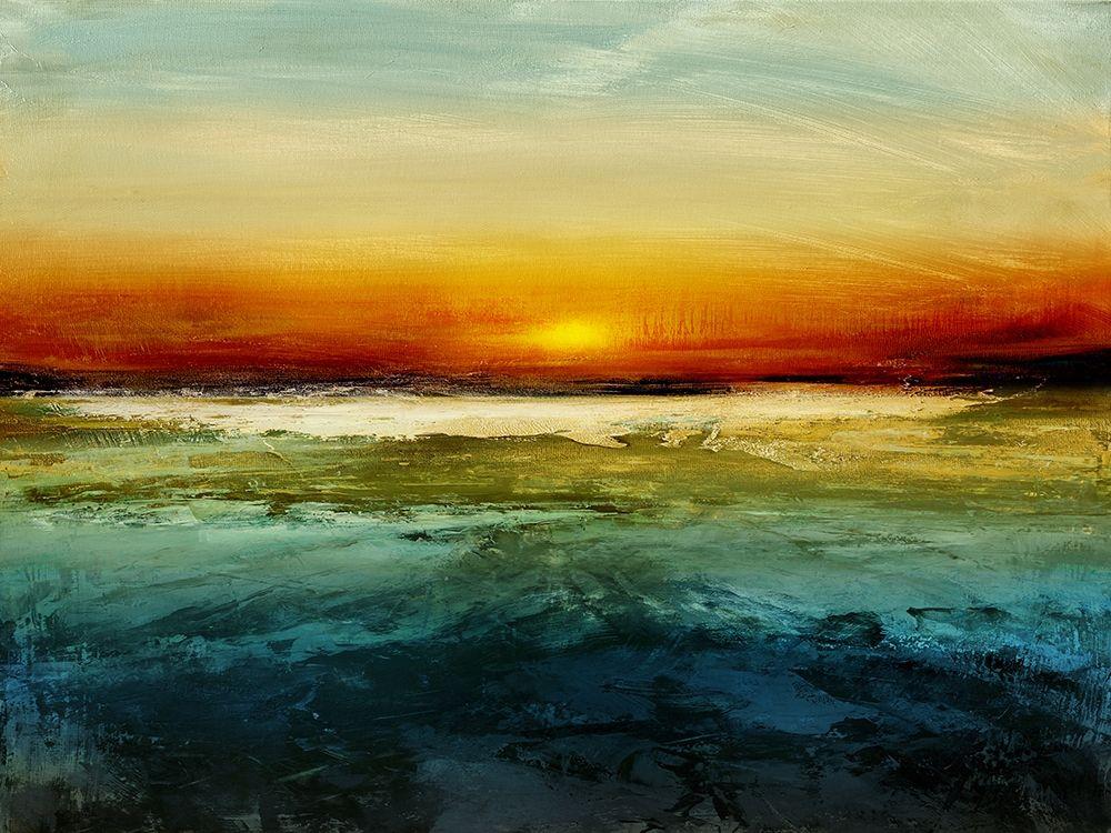 konfigurieren des Kunstdrucks in Wunschgröße Setting Sun von Messina, Jake