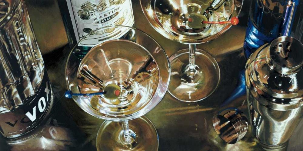 konfigurieren des Kunstdrucks in Wunschgröße Martini Bar von Ferreri, Stefano