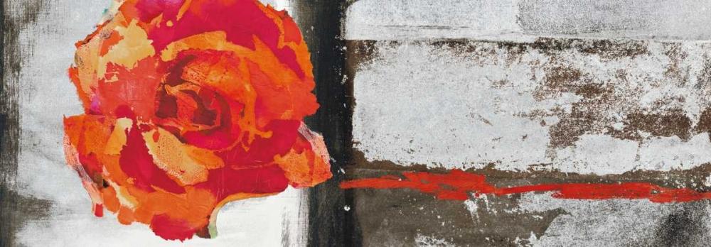 konfigurieren des Kunstdrucks in Wunschgröße Metallic Pop Flower II von Ward, Sarah