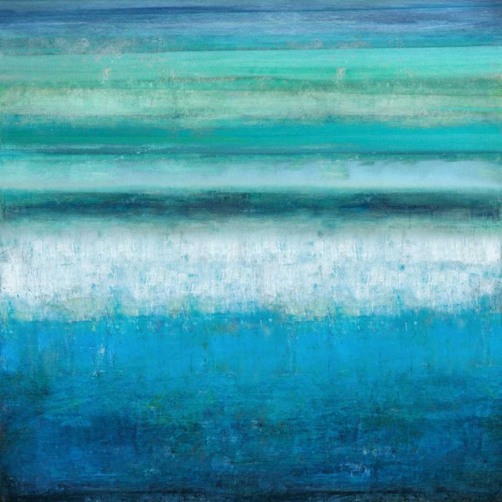 konfigurieren des Kunstdrucks in Wunschgröße Aqua Tranquility von Hamilton, Taylor