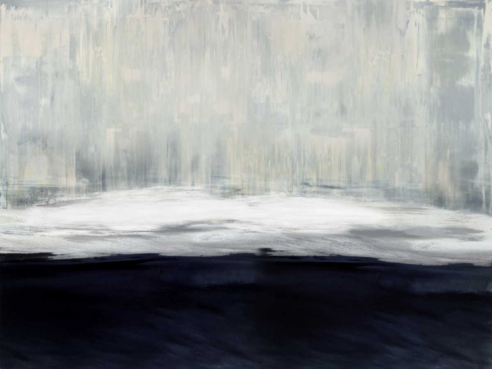 konfigurieren des Kunstdrucks in Wunschgröße White on Blue von Hamilton, Taylor