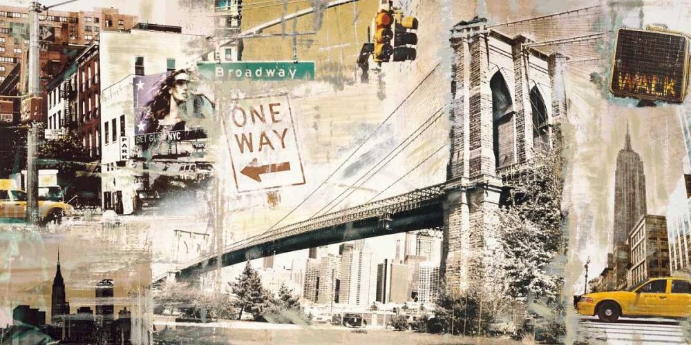 konfigurieren des Kunstdrucks in Wunschgröße Manhattan von Burke, Tyler